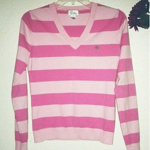 Lilly Pulitzer Pink Striped Sweater